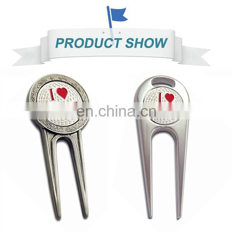 2017 gold supplier golf divot tool in Alibaba