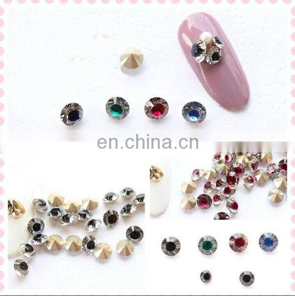 Latest wholesale 3d nail art nail stone