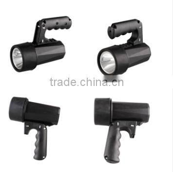 wholesale railway IP68 waterproof rechargeable led explosion proof high power searchlight cree torch emergency spotlight