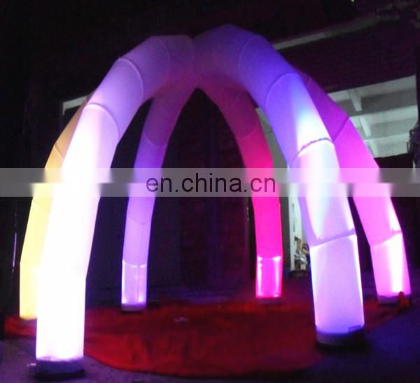 Party event decorations lighting inflatable wedding arch