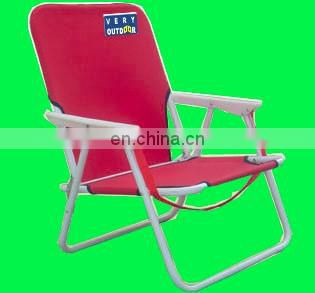Steel low back folding foldable beach chair avaliable customize brand