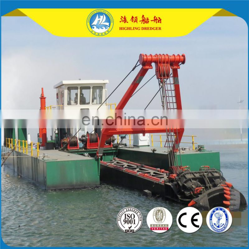 2017 newly 24inch / 650mm hydraulic cutter suction dredger for sale Image