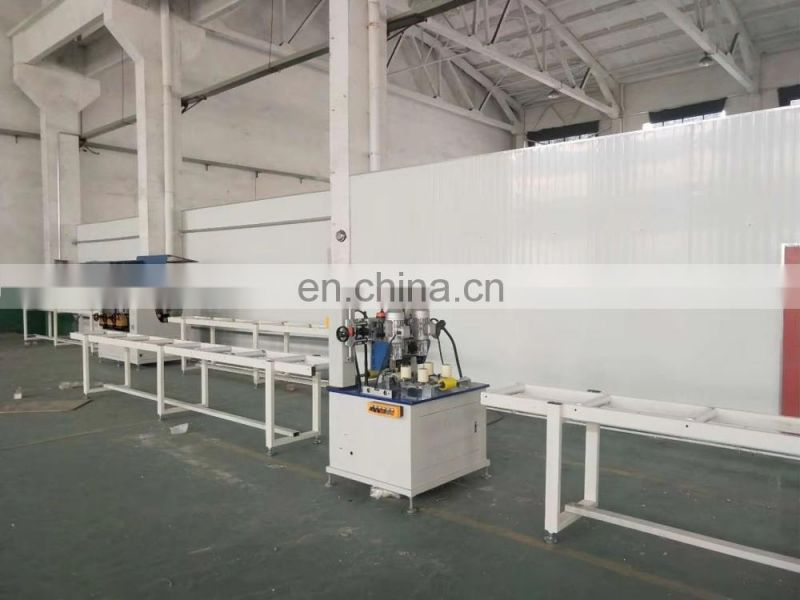 Automatic thermal barrier assembly machines for aluminium profiles_knurling machine_rolling machine