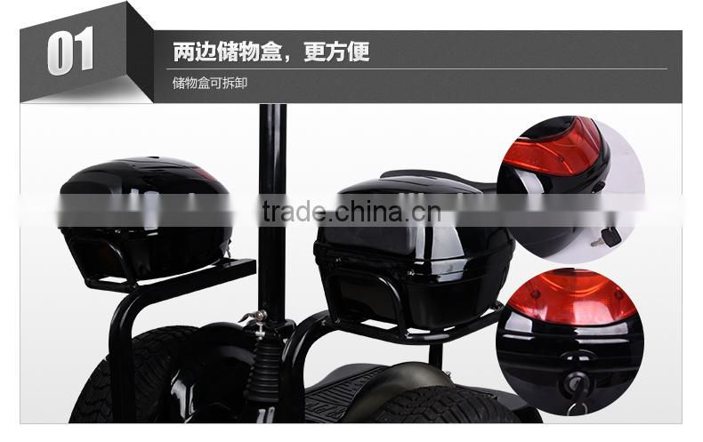 4 wheel electric scooter balance scooter electrical golf cart 4 wheeler stand up standing scooter 1000W