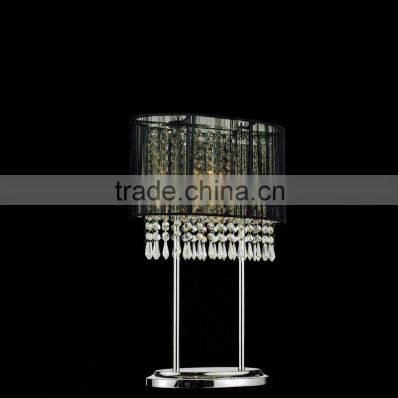 modern decorative crystal table led lamps