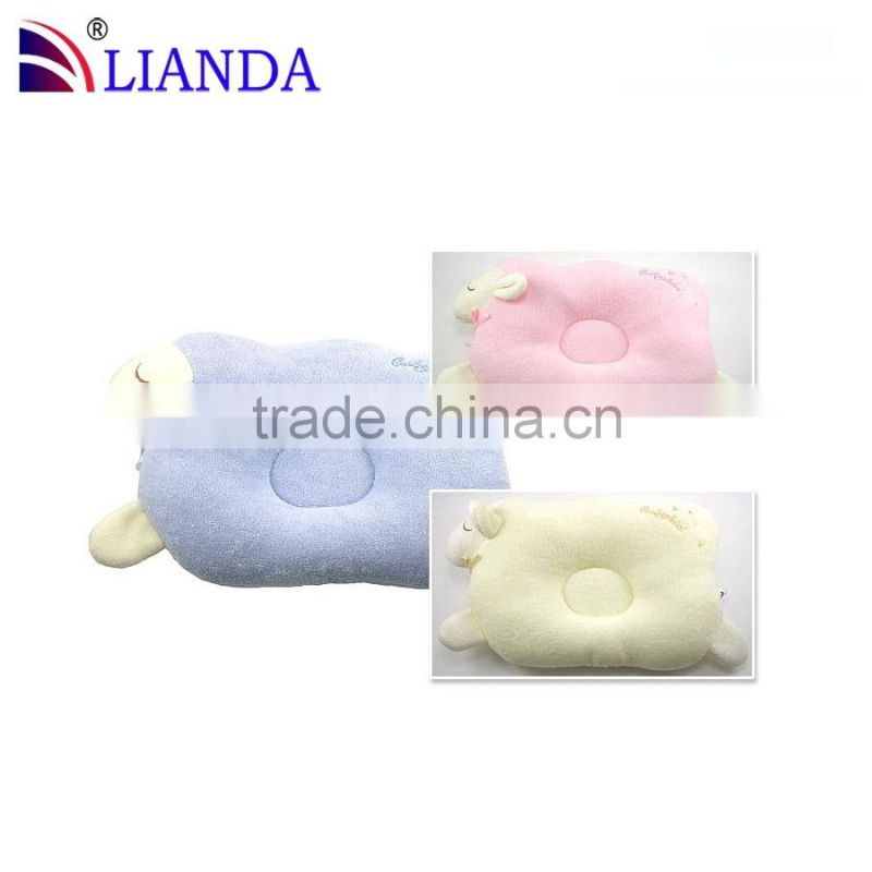 new product baby neck pillow/ baby flat head memory foam pillow/ small baby pillow CE certificate