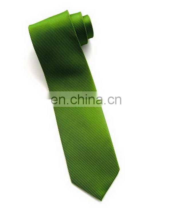 Fashion classical polyester stripe minion black necktie
