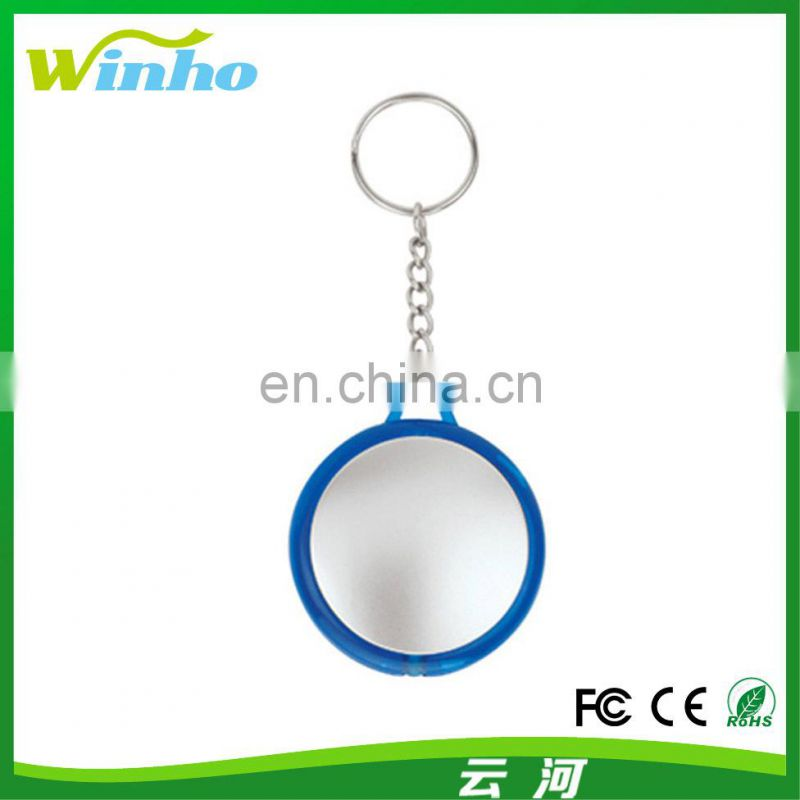Winho Mini Torch Round UFO Shaped LED Keyring