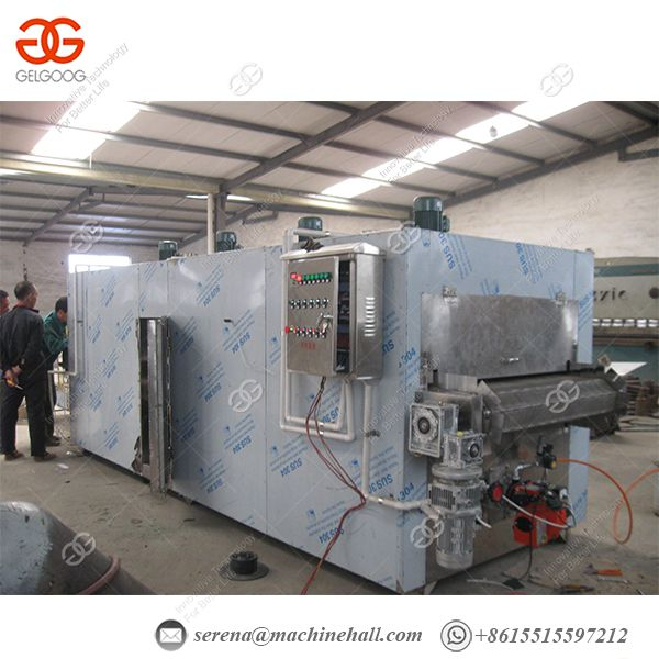 Automatic Portable Peanut Roasting Machine Almonds Roasting Machine Nut Roasting Machine Image