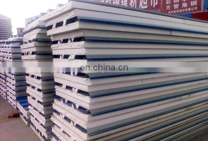Good quality heat insulation 950 sound proof EPS Roofing sandwich panel