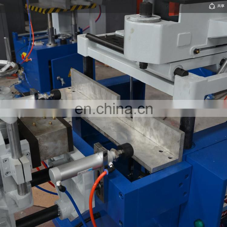 Lock hole window machine vinyl profile milling for making