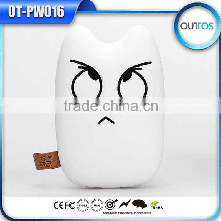 Hot selling totoro power bank 6600mah 7800mah 8400mah