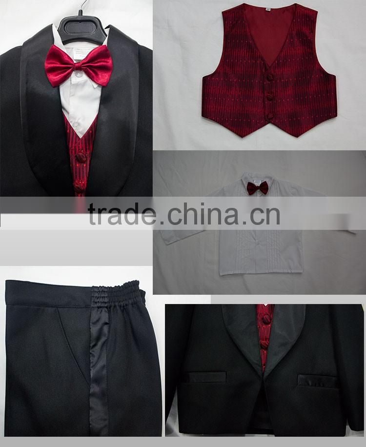 Multifunctional baby boy tuxedo made in China