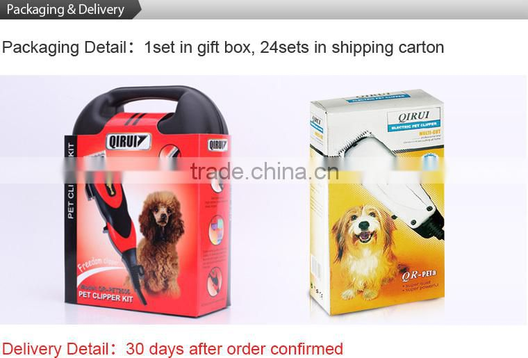 Electric Corded AC Pet Hair Trimmer, Dog Cat Grooming Clippers Kit