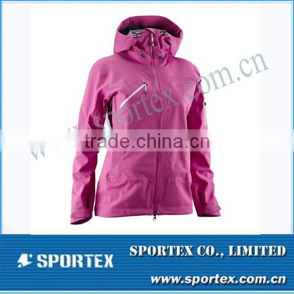 2014 Popular Sportswear Customer Design Women's Softshell Jacket MZ0079