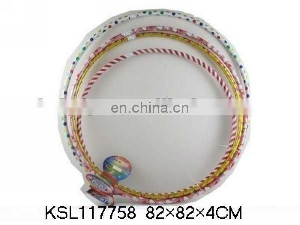 multicolor exercise hula hoop