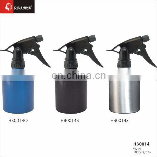 Hot sale new product hair product pump aluminum spray bottle for salon