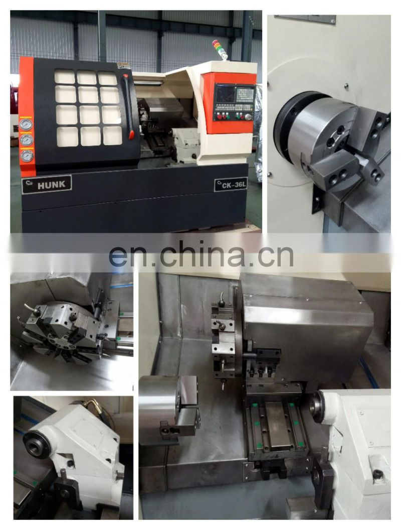 CK36L Mini Bench Cnc Turning Lathe Machine Image