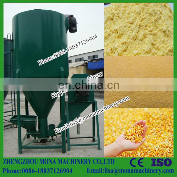 China first-class level High efficiency animal feed crushing mixing machine with low price Image
