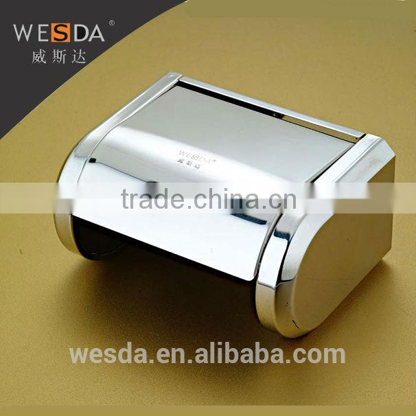 Wesda Wall mount toilet accessories Decroative recessed toilet paper holder for bathroom