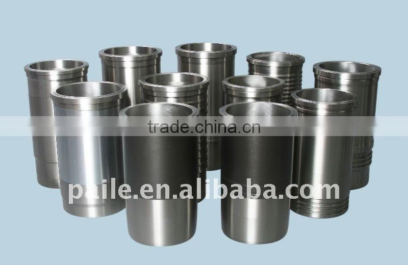 Automotive Casting Iron sleeve Wet dry cylinder liner apply for Scania DN8.01 part no 061WN08