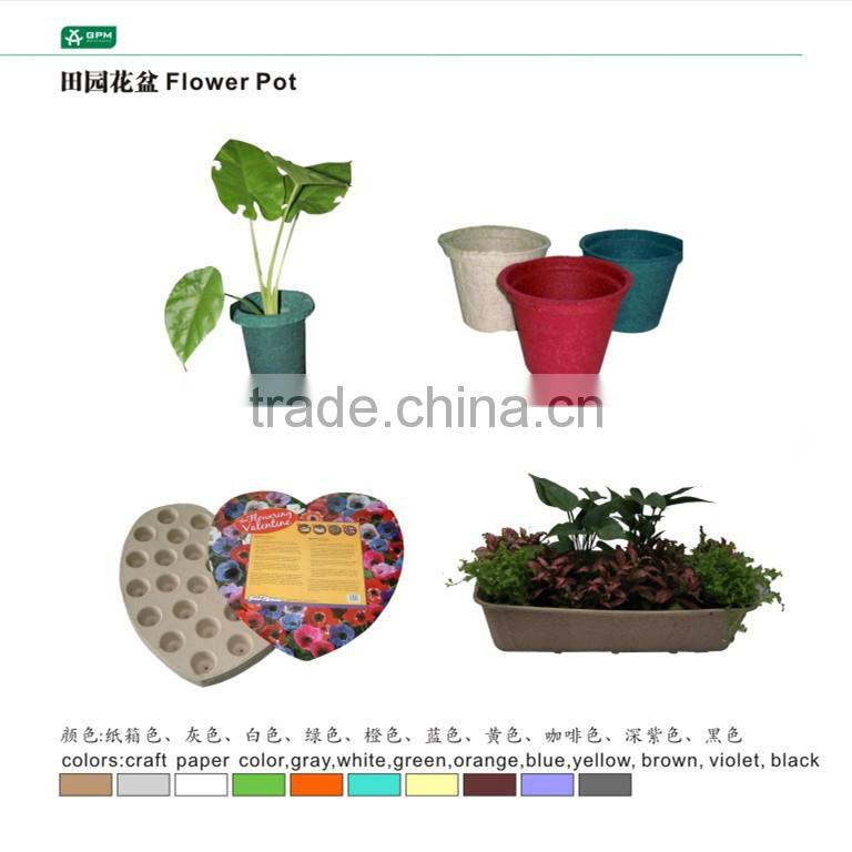 Paper Mache Flower Pots Planters Flowers Healthy