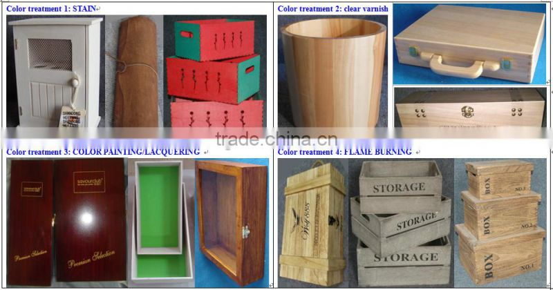 cheap custom unfinished cylinder birch veneer wine box wholesale