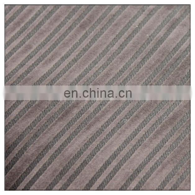twill flock fabric flocked fabric cotton flocking stripe pattern twill flock fabric flocked fabric