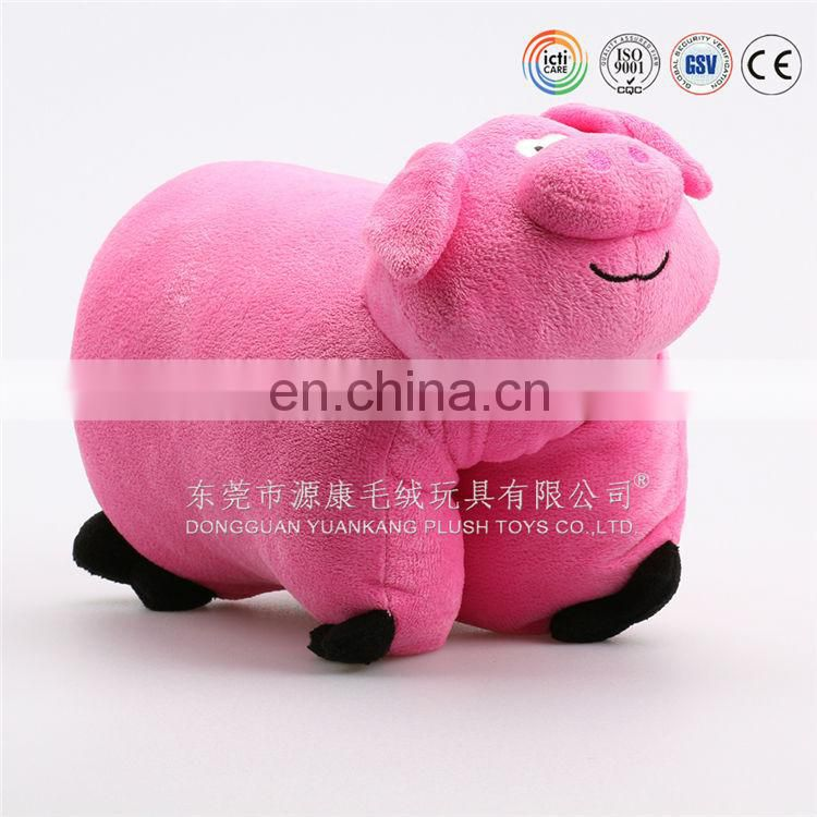 Famous animal cute design brand pillow toy ICTI Audited