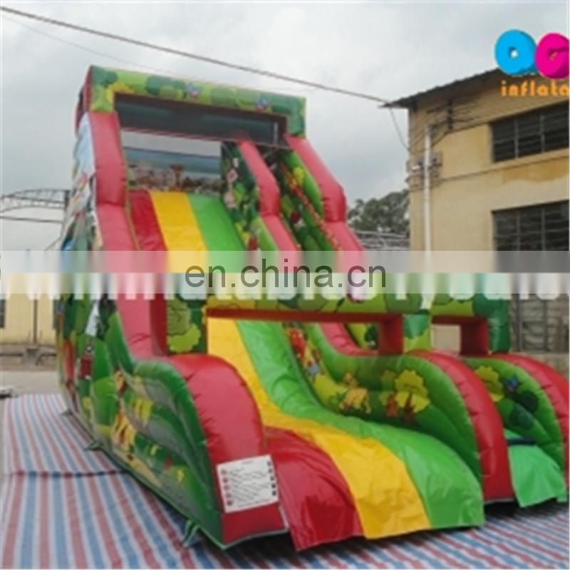 giant adult size inflatable floating water slip n slide