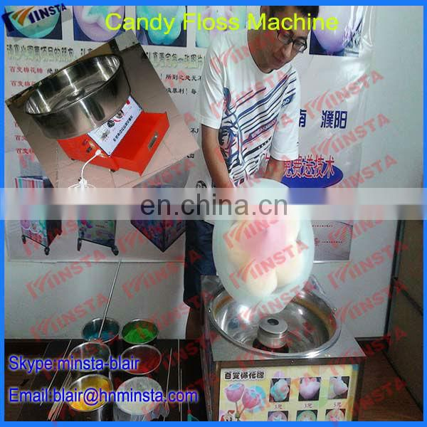 hot sale factory wholesale flower cotton candy machine cotton candy machine maker Image