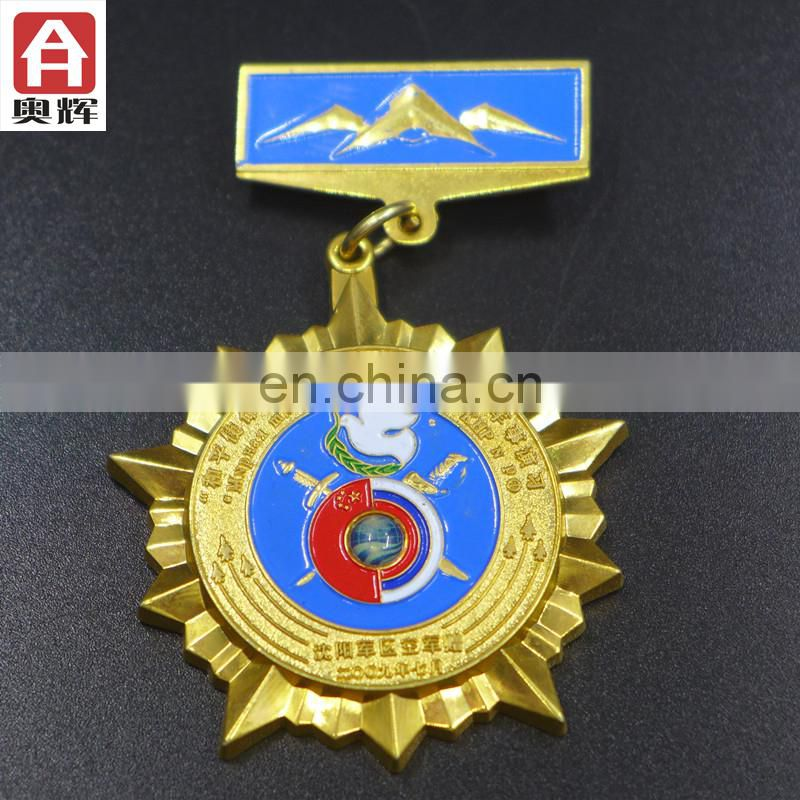 Good quality brass MOQ 10 plastic badge good quality badges