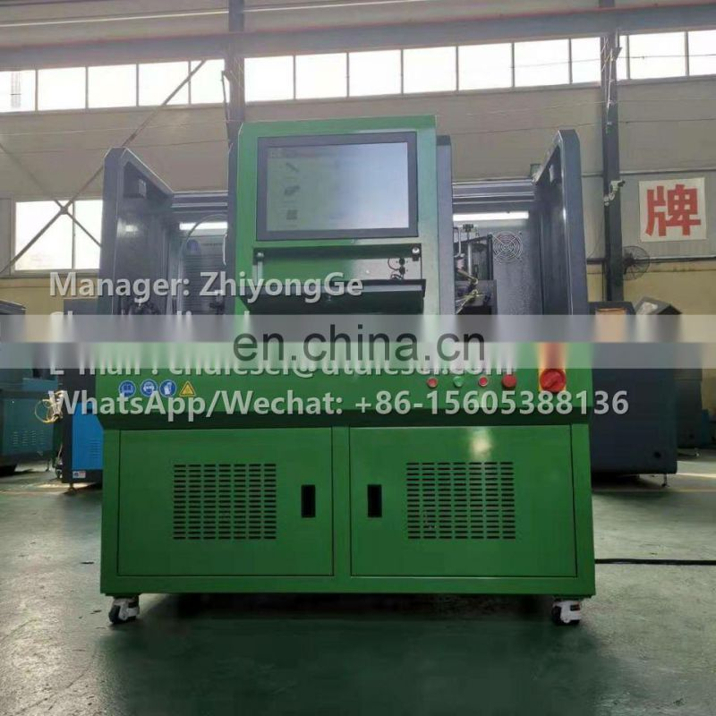 CR318 DIESEL CMMON RAIL AND C7 C9 C-9 3126 HEUI INJECTOR TEST BENCH