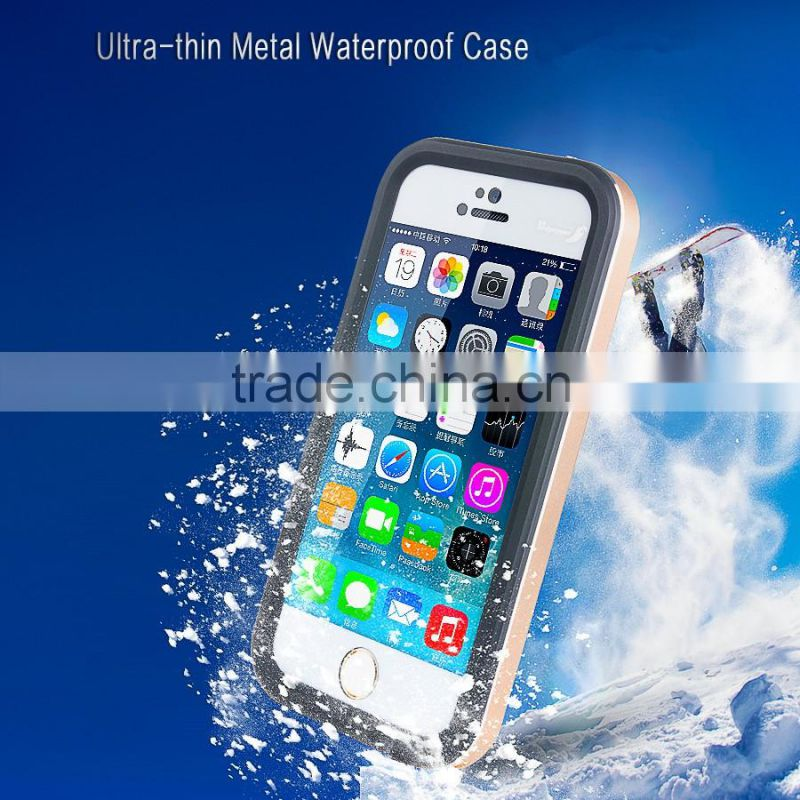 PE waterproof phone case