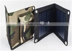 foldable solar charger, 10.5Watt USB-port 5V solar phone charger for mobile phone/Ipad/power bank,etc