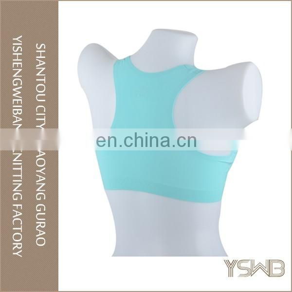 Wholesale cheap breathable high elasticity women yoga bra for sport