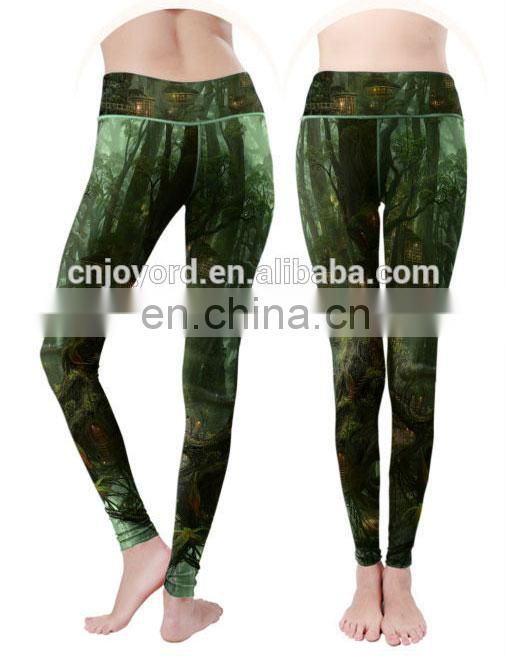 Wholesale latest clothes design your own elastic yoga pants leggings with custom logo