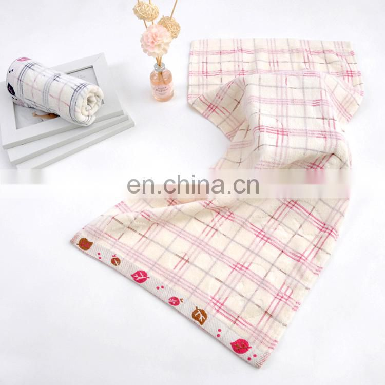 High quality embroidered cotton hand towels