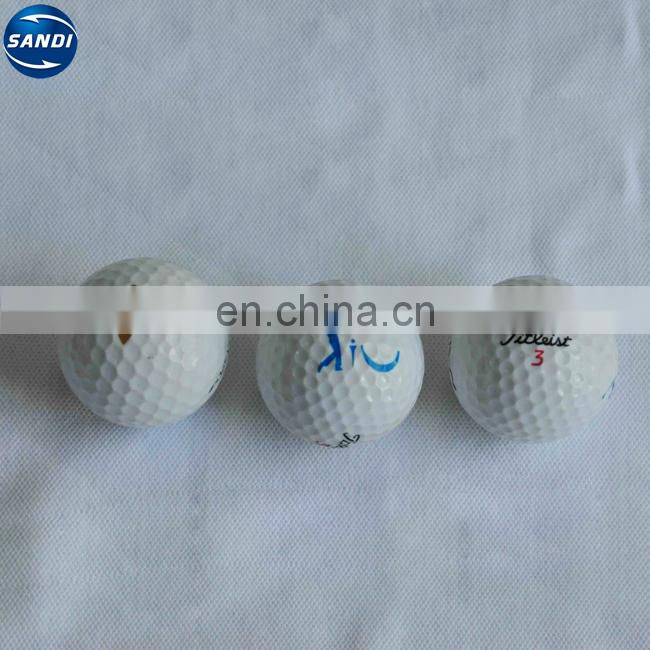 2 layers bulk black golf ball