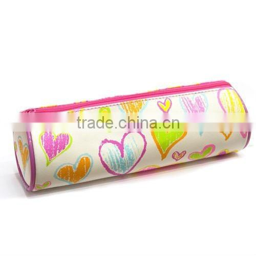 custom beautiful round shapes pencil cases