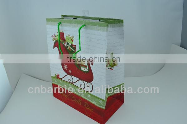 xmas shopping bags rigid boxes paper bags