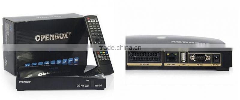 Wholesale Original Libertview V8S HD Satellite TV Receiver Support  Youtube,Youporn,3G,USB Wifi Decoder Openbox V8S