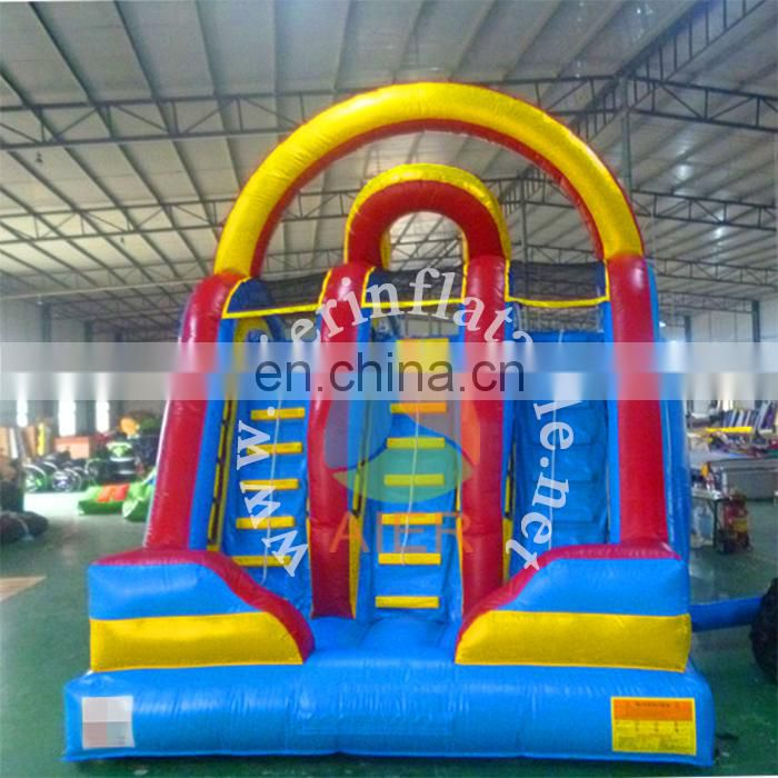 Giant water slide baby kids outdoor toy inflatable slide for kids and adult play