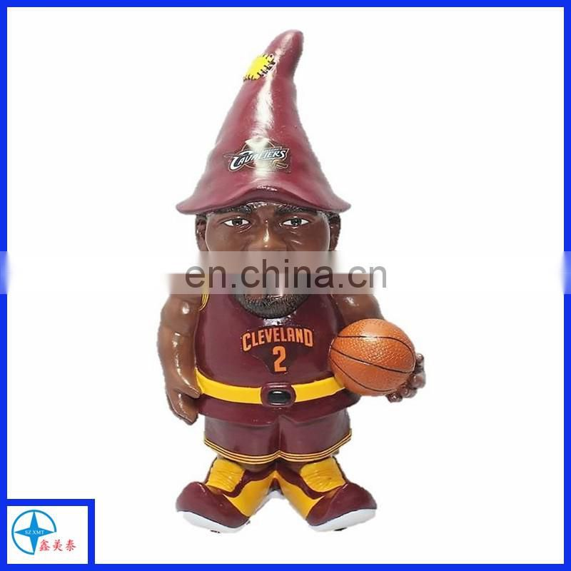 Unique & funny basketball player gnome for garden