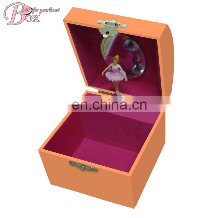 Wholesale Colorful Cardboard Girls Musical Ballerina Box
