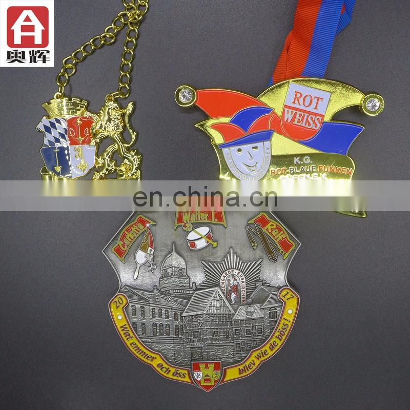 Good quality customer design snowflake medal
