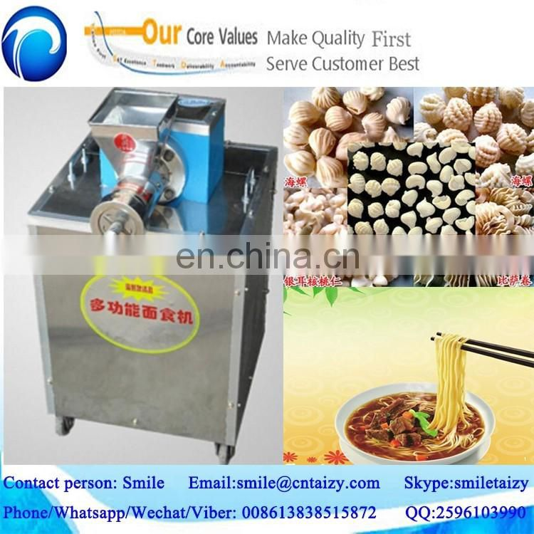 popular in restaurant and food industry pasta and macaroni making and extruder machine