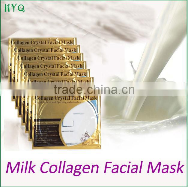 Skin care Face Mask Whitening and Moisturizing and Anti-Aging Milk Collagen Crystal Facial Mask