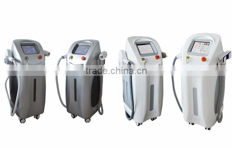 2 in 1 Q-Switch yag laser and laser type 808 Diode Laser Hair Removal Machine