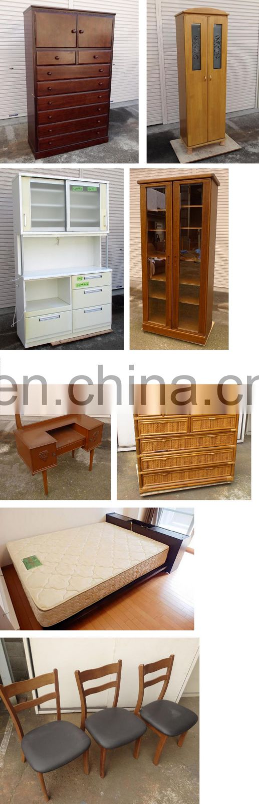 Vintage Used Japanese Very Cheap Furniture/ the Drawers, the Mattresses, etc. Wholesale